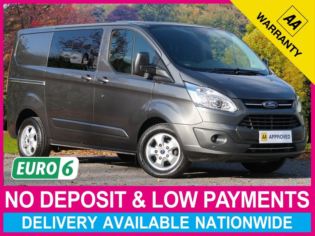 USED 2018 67 FORD TRANSIT CUSTOM 2.0 TDCI LIMITED 6 SEAT COMBI VAN L1H1 290 130 6 SEATS AIR CON CRUISE ALLOYS
