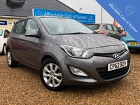 USED 2012 62 HYUNDAI I20 1.4 ACTIVE 5d 99 BHP Low Mileage 5 door Petrol with FSH