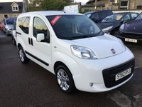 USED 2012 62 FIAT QUBO 1.4 MYLIFE 5d 73 BHP EXCEPTIONALLY LOW MILEAGE,WITH SERVICE HISTORY