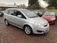 USED 2010 60 VAUXHALL ZAFIRA 1.9 ELITE CDTI 5d 120 BHP LOW MILEAGE 7 SEATER DIESEL WITH A FULL SERVICE HISTORY