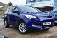 USED 2015 15 FORD KUGA 2.0 TITANIUM TDCI 5d 177 BHP COMES WITH 6 MONTHS WARRANTY