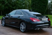 USED 2018 68 MERCEDES-BENZ CLA 1.6 CLA200 AMG Line Edition 7G-DCT (s/s) 4dr NAV+CAMERA+AA CHECKED