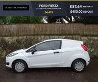 USED 2014 64 FORD FIESTA 1.6 ECONETIC TDCI 94 BHP CAR DERIVED VAN