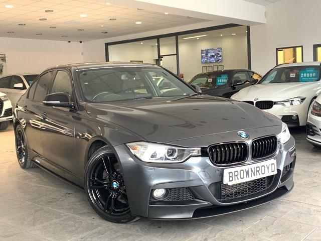USED 2014 64 BMW 3 SERIES 3.0 330D M SPORT 4d AUTO 255 BHP BM PERFORMANCE STYLING+SAT NAV