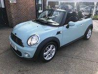 2011 MINI CONVERTIBLE 1.6 ONE 2d AUTO 98 BHP £6999.00