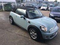 USED 2011 11 MINI CONVERTIBLE 1.6 ONE 2d AUTO 98 BHP