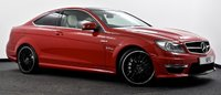 USED 2014 14 MERCEDES-BENZ C CLASS 6.3 C63 AMG MCT 2dr Pan Roof, Camera, £60k New ++