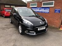 2013 RENAULT SCENIC 1.5 DYNAMIQUE TOMTOM DCI 5d 110 BHP £5190.00