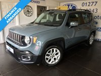 2015 JEEP RENEGADE 1.4 LONGITUDE 5d 138 BHP £8395.00