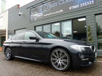 2017 BMW 5 SERIES 2.0 520D M SPORT 4d AUTO 188 BHP SOLD