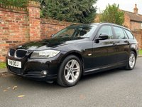 USED 2011 11 BMW 3 SERIES 2.0 318D ES TOURING 5d 141 BHP 3 OWNERS, FULL SERVICE HISTORY, 1YR MOT, FULLY PREPARED,  EXCELLENT CONDITION,  ALLOYS, CLIMATE, BLUETOOTH, REAR SENSORS, RADIO CD, E/WINDOWS, R/LOCKING, FREE WARRANTY, FINANCE AVAILABLE, HPI CLEAR, PART EXCHANGE WELCOME,