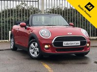 USED 2017 17 MINI CONVERTIBLE 1.5 COOPER 2d 134 BHP