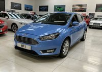 USED 2017 67 FORD FOCUS 1.5 TITANIUM 5d 150 BHP AUTO HATCH LEATHER NAV