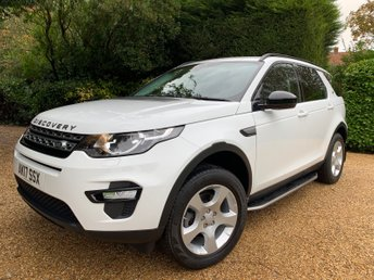 2017 LAND ROVER DISCOVERY SPORT 2.0 TD4 PURE SPECIAL EDITION 5d 150 BHP £19949.00
