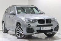 USED 2016 66 BMW X3 2.0 XDRIVE 20D M SPORT 5d AUTO 188 BHP