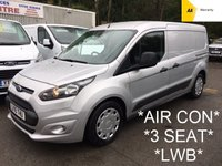 USED 2015 15 FORD TRANSIT CONNECT LWB 1.6 240 TREND 94 BHP *AIR CON*3 SEAT*
