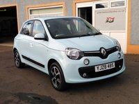 "USED 2016 RENAULT TWINGO 1.0 DYNAMIQUE SCE S/S 5d 70 BHP 15"" Alloys, Bluetooth, Cruise Control, 2 Service Stamps"