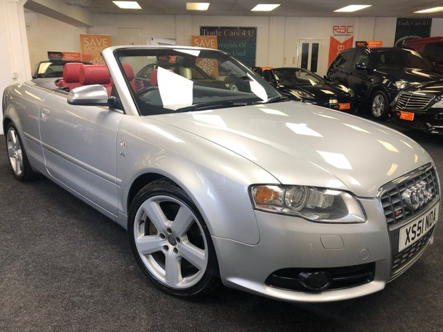 2006 51 AUDI A4 S4 CABRIOLET/CONVERTIBLE 4.2 V8 QUATTRO AWD TIPTRONIC