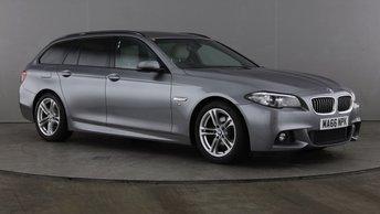 2016 BMW 5 SERIES 2.0 520D M SPORT TOURING 5d AUTO 188 BHP £17990.00