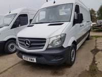 USED 2017 17 MERCEDES-BENZ SPRINTER 2.1 314CDI 140 BHP 17 PLATE ARCTIC WHITE