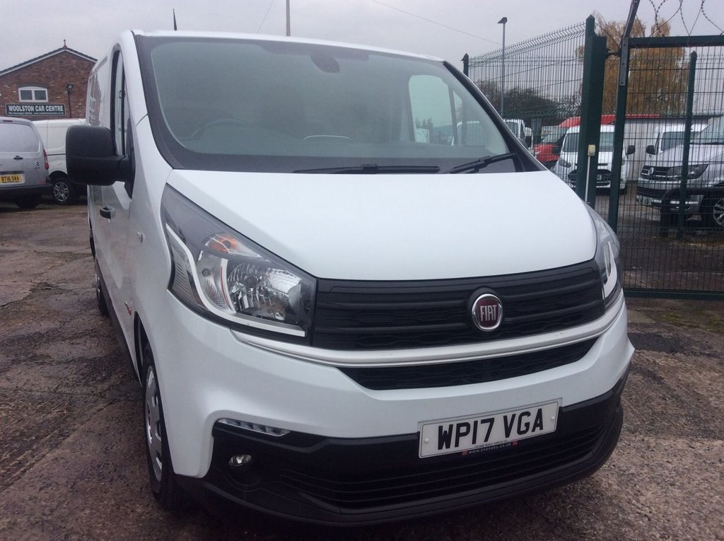 USED 2017 17 FIAT TALENTO 1.6 16V MULTIJET II 95 BHP 1 OWNER FSH  EURO 6 AIR CON CRUISE MANUFACTURERS WARRANTY AIR CONDITIONING CRUISE CONTROL REAR PARKING SENSORS EURO 6 ELECTRIC WINDOWS AND MIRRORS 6 SPEED BLUETOOTH SECURITY LOCKS