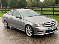 2012 MERCEDES-BENZ C CLASS 2.1 C220 CDI BLUEEFFICIENCY AMG SPORT 2d AUTO 170 BHP £8995.00