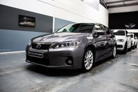 2014 LEXUS CT 1.8 200H LUXURY 5d AUTO 136 BHP £8891.00