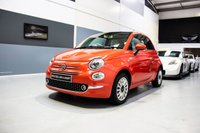 USED 2016 FIAT 500 1.2 LOUNGE 3d 69 BHP**PANORAMIC GLASS ROOF & BLUETOOTH**