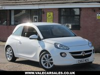 USED 2013 63 VAUXHALL ADAM 1.4 JAM (£1,245 OF EXTRAS) 3dr LOW MILEAGE + £1,245 OF OPTIONAL EXTRAS
