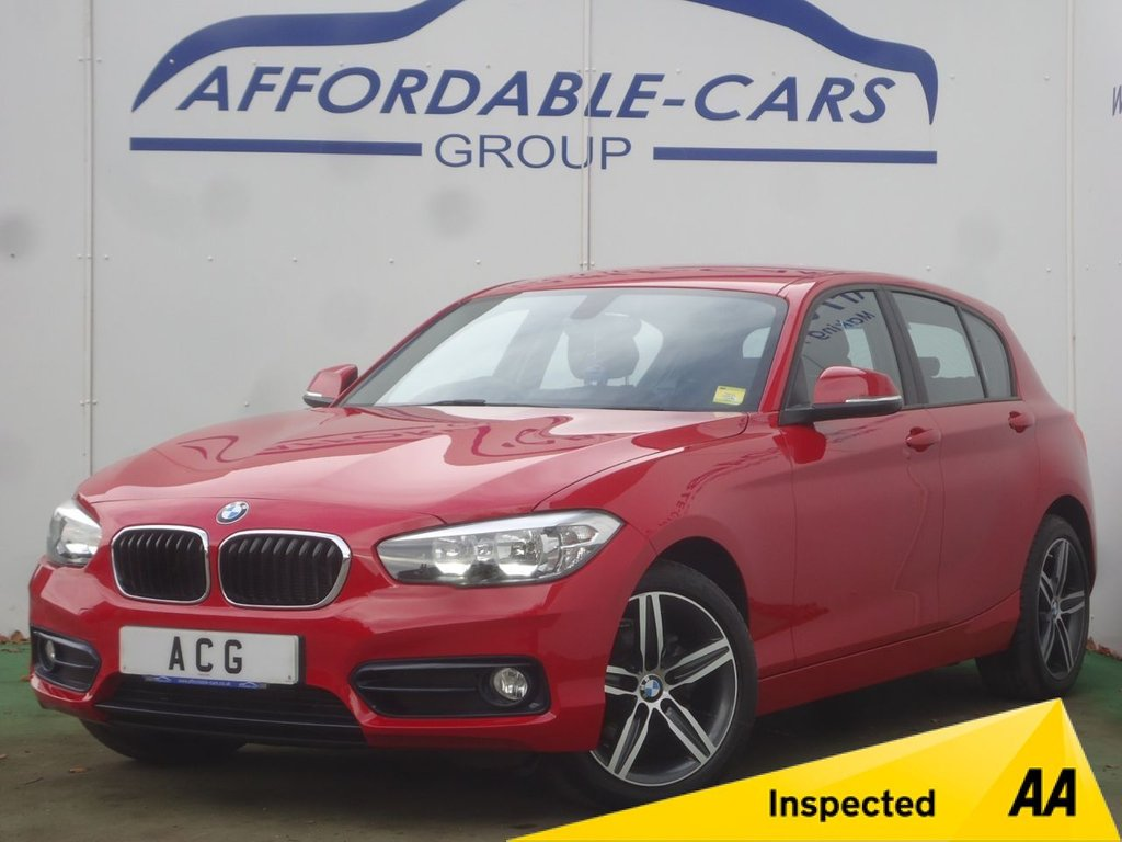 USED 2015 65 BMW 1 SERIES 1.5 116D SPORT 5d AUTO 114 BHP