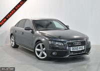 USED 2011 60 AUDI A4 2.0 TDI QUATTRO S LINE 4d 168 BHP BUY NOW, PAY 2 MONTHS LATER
