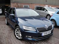 2018 SKODA SUPERB 1.4 SE L EXECUTIVE TSI DSG 5d AUTO 148 BHP £16980.00