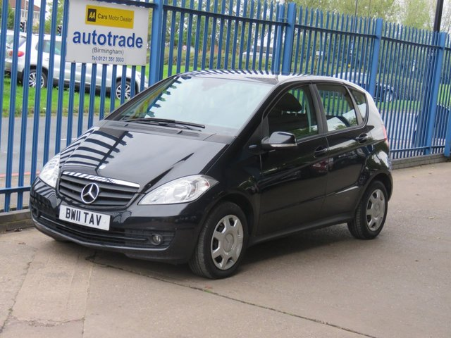 USED 2011 11 MERCEDES-BENZ A CLASS 1.5 A160 BLUEEFFICIENCY CLASSIC SE 5dr Bluetooth Air con CD player Finance arranged Part exchange available Open 7 days