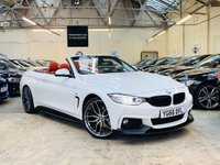 USED 2016 66 BMW 4 SERIES 3.0 430d M Sport 2dr PERFORMANCE KIT 20S RED LTHR
