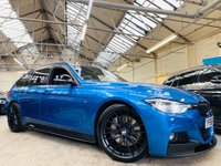 USED 2016 66 BMW 3 SERIES 3.0 335d M Sport Touring Auto xDrive (s/s) 5dr PERFORMANCE KIT 20S STUNNER!