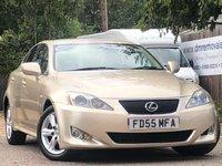 2005 LEXUS IS 2.5L 250 4d AUTO 204 BHP £3999.00