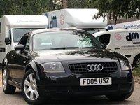 2005 AUDI TT 1.8L T 3d 177 BHP £4299.00