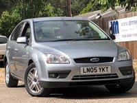 2005 FORD FOCUS 1.6L GHIA 16V 5d AUTO 101 BHP £2499.00