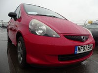 USED 2007 07 HONDA JAZZ 1.2 DSI S 5d GOOD SERVICE HISTORY LOW MILES
