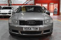 USED 2004 54 AUDI A8 4.2 QUATTRO 4d AUTO 330 BHP GREY FULLY LOADED