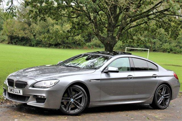 2013 13 BMW 6 SERIES 3.0 640D M SPORT GRAN COUPE 4d AUTO 309 BHP