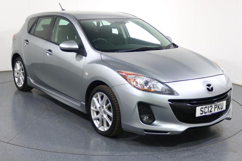 USED 2012 12 MAZDA 3 1.6 SPORT 5d 103 BHP 2 OWNERS with 4 Stamp SERVICE HISTORY