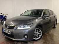 2013 LEXUS CT 1.8 200H ADVANCE 5d AUTO 136 BHP £9795.00