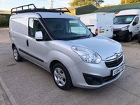 USED 2014 64 VAUXHALL COMBO 1.6 2000 L1H1 CDTI S/S SPORTIVE 105 BHP