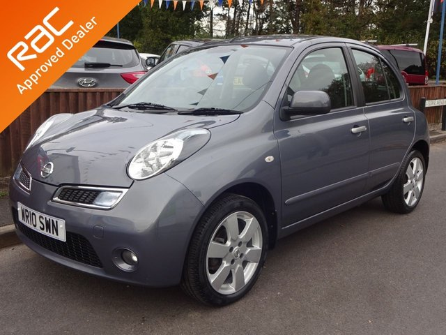 USED 2010 10 NISSAN MICRA 1.2 N-TEC 5DOOR AUTOMATIC *SATNAV* LOW MILEAGE SMALL AUTOMATIC, MOT TILL NEXT JULY! LOADS OF SERVICE HISTORY. HIGH SPEC