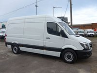 USED 2017 66 MERCEDES-BENZ SPRINTER 314CDI MWB, 140 BHP [EURO 6], LOW MILES