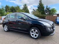 2011 PEUGEOT 3008 1.6 HDi SPORT 5d 112 BHP WITH BLUETOOTH, AIR CON, ALLOYS £3000.00