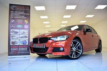 2017 BMW 3 SERIES 320I 2.0 M SPORT SHADOW EDITION AUTOMATIC £27995.00