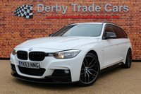 USED 2013 63 BMW 3 SERIES 3.0 330D M SPORT TOURING 5d AUTO 255 BHP