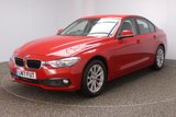 USED 2017 17 BMW 3 SERIES 2.0 320D SE 4DR AUTO SAT NAV 1 OWNER 188 BHP FULL BMW SERVICE HISTORY + SATELLITE NAVIGATION + PARKING SENSOR + BLUETOOTH + CRUISE CONTROL + CLIMATE CONTROL + MULTI FUNCTION WHEEL + DAB RADIO + ELECTRIC WINDOWS + RADIO/CD/AUX/USB + ELECTRIC MIRRORS + 17 INCH ALLOY WHEELS